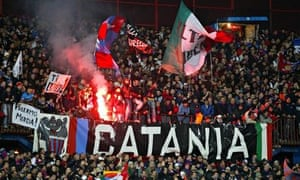 Catania supporters
