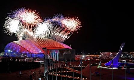 Sochi fireworks