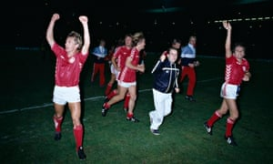 Denmark Win At Wembley