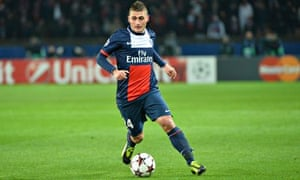 Paris Saint-Germain Marco Verratti