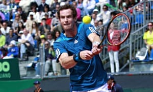 Andy Murray, GB v Italy