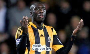 Hull City's Yannick Sagbo has been banned for two games for a tweet that supported Nicolas Anelka's