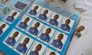 Mario Balotelli covers up Italy team with own sticker in