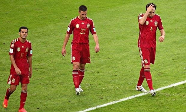 d89e93969a2 Spain v Chile  World Cup 2014 – as it happened