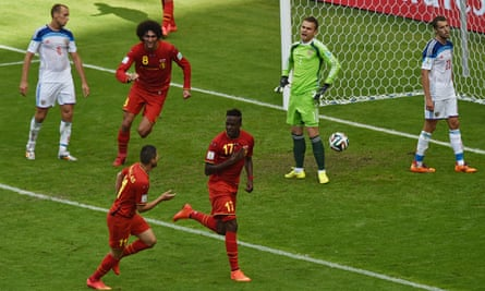 Players who took part in Belgium's defeat of Russia on Sunday raised concerns about the state of the