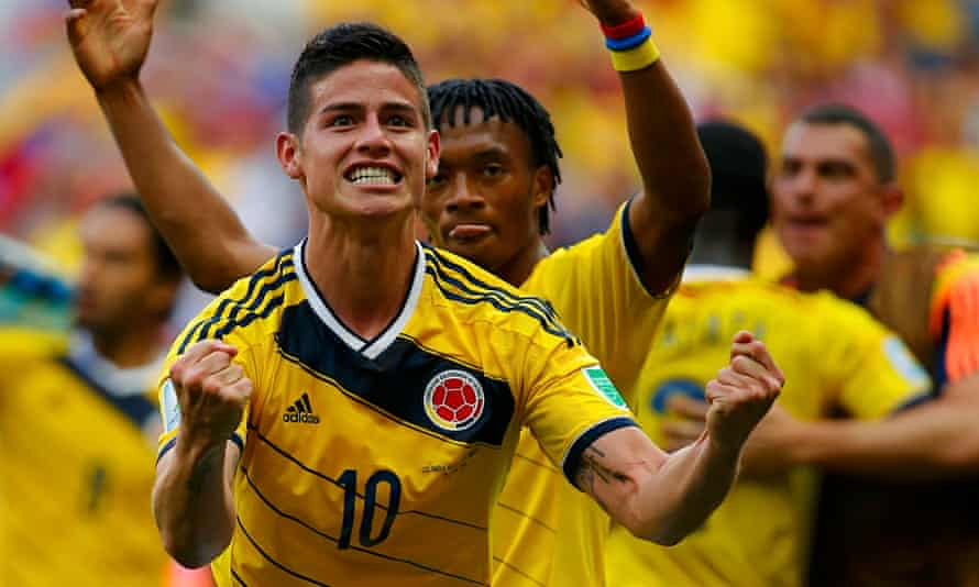 Colombia's James Rodríguez was offered to Manchester United for around £5m but they went for other o