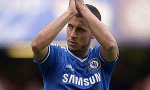 Chelsea's Eden Hazard appears to be ready to remain at Stamford Bridge after being linked with Paris