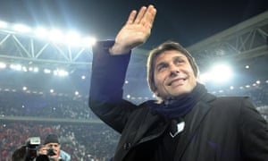 Antonio Conte, head coach of Juventus, has left the club by mutual consent, and has been linked to t