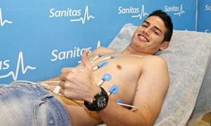 James Rodriguez medical