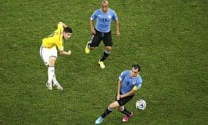 James Rodriguez volley
