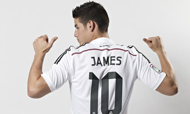 86adbbc1b Gareth Bale tells James Rodríguez  put down roots at Real Madrid ...