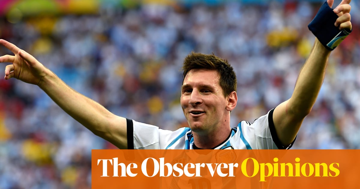 7a9f5549f Bubbly Lionel Messi still the man to make Argentina fizz at World ...
