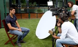 Wimbledon Winner Novak Djokovic Photocall