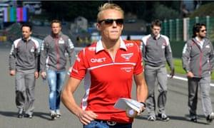 Max Chilton Marussia Spa