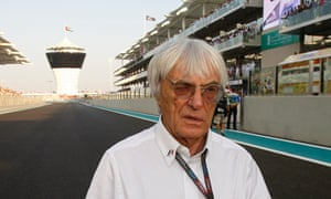 Bernie Ecclestone makes the F1 rules, with the concluding round of the season now in Abu Dhabi.