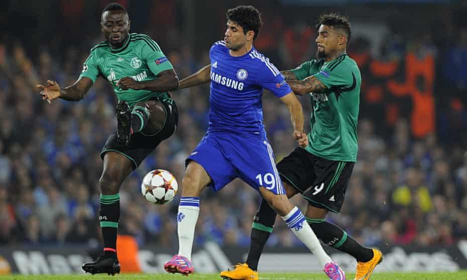 Chelsea v Schalke 04, Britain - 17 Sep 2014