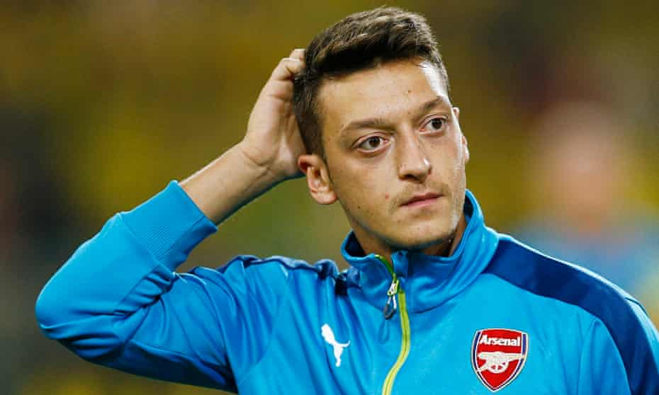 Arsenal's Mesut Özil has been the centre of attention thanks to some indifferent form this season.