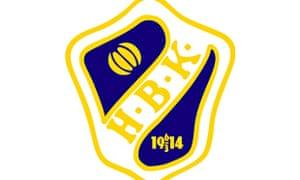 Halmstad club crest