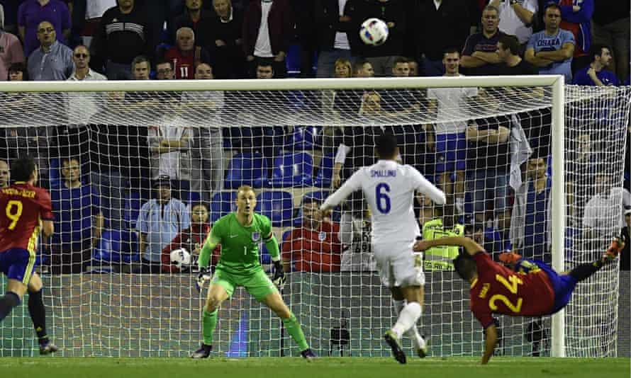 Spain's midfielder Mario