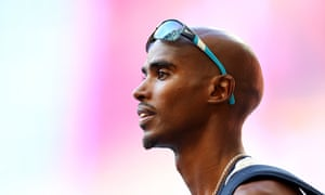 Great Britain's Mo Farah has waded in with an uppercut after engaging in an argument on Twitter with