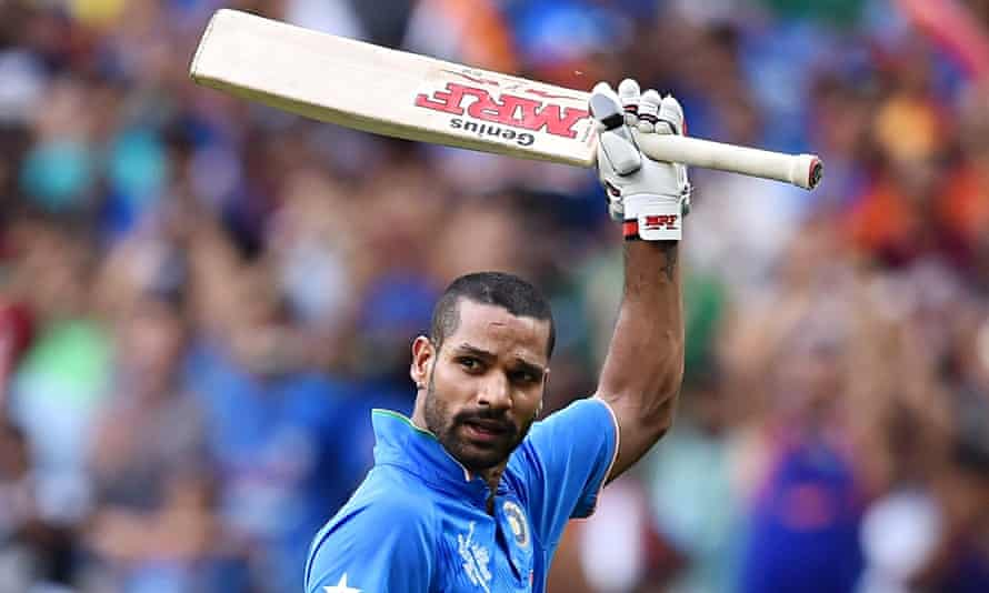 Shikhar Dhawan's lack of runs coming into the Cricket World Cup had concerned India - but no more