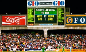 The scoreboard tells the story as England win a controversial rain affected game on run rate in the