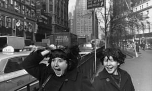 When the Beatles went to the US for the first time, Albert Maysles and his brother, David, brilliant