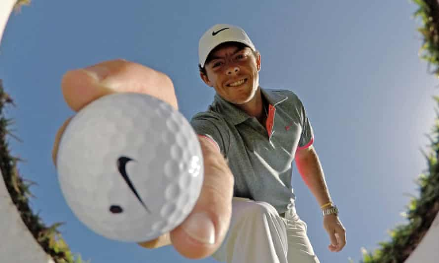 Rory McIlroy is seen by blue-chip firms as having the right image and personality to link up with