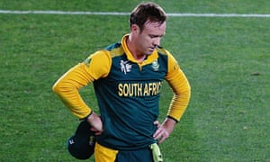 AB De Villiers Feels The Pain After South Africas Loss To New