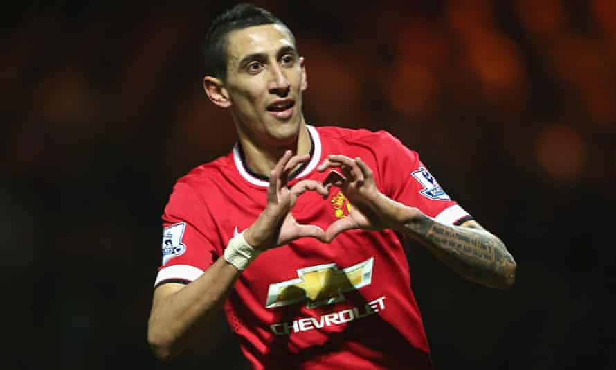 Ángel Di María has not had the best of seasons at Manchester United and his manager says he would co