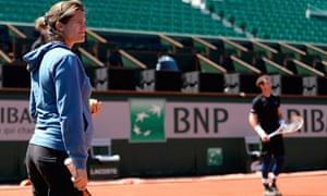 Amélie Mauresmo has been Andy Murray's coach for nearly a year and they have a strong bond
