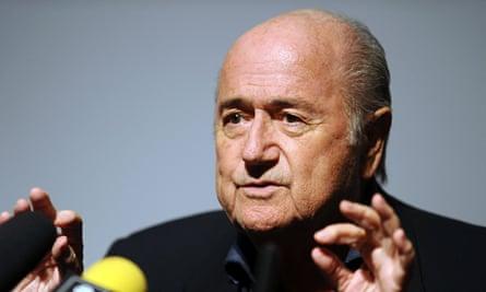 Soccer - Sepp Blatter