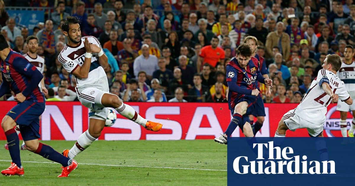Barcelona 3 0 Bayern Munich Champions League Semi Final First Leg Match Report Football The Guardian