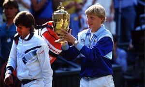 Boris Becker has never watched the match of his 1985 Wimbledon win over Kevin Curren in full