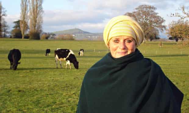 Zero Quensel near Glastonbury, where she ran a shop raising funds for the Healing Hearts Sufi charit