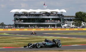 Lewis Hamilton on pole position for F1's British Grand Prix