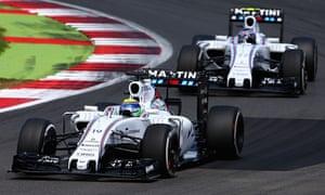 Felipe-Massa-Valtteri Bottas-Williams-Silverstone