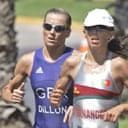 British triathlete Michelle Dillon