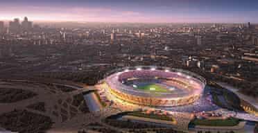Plans for London's Olympic stadium
