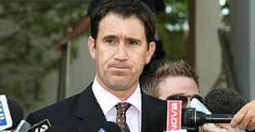 Cricket Australia's chief executive James Sutherland announces the decision to postpone the tour of Pakistan