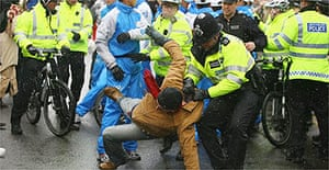 Olympic protests, London