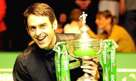 Ronnie O'Sullivan wins third trophy