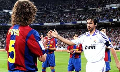 "Barcelona's ""guard of honour"" in Madrid"