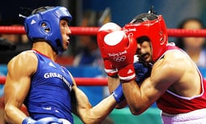 James DeGale and Darren Sutherland