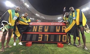 Beijing 20008: athletics - Bolt and team-mates power to ...