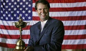 Paul Azinger with the Ryder Cup