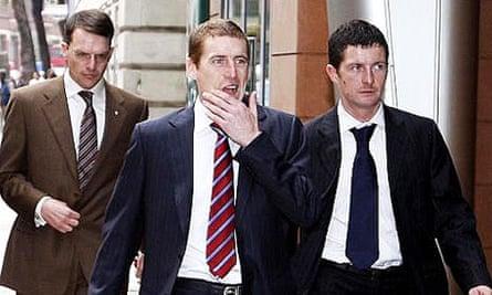 Aidan O'Brien, Johnny Murtagh and Colm O'Donoghue