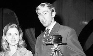 David Hemery with the 1968 BBC Sports Personality award