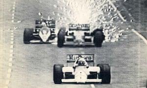 Nigel Mansell 1986 Australian GP