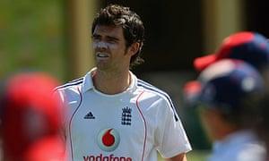 England bowler James Anderson